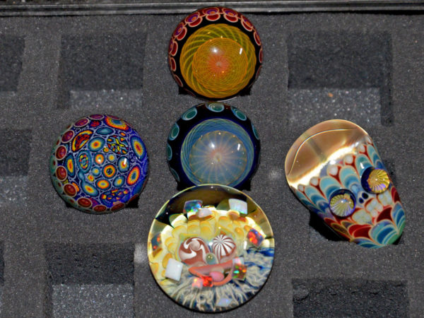 Lot of Mike Gong Marbles